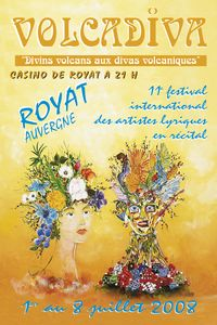volcadiva festival international des artistes lyriques en recital a royat en auvergne. Black Bedroom Furniture Sets. Home Design Ideas